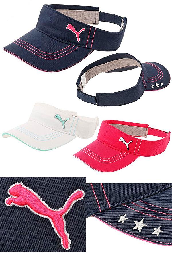 Puma Golf Japan 2017 Spring   Summer Golf Twill Sun Visor - Lady Golf Japan  for women 145fe8c99bd